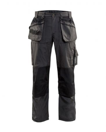 Blaklader 1525 Lightweight Craftsman Trousers (Dark Grey/Black)